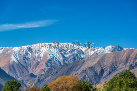 andes mountain view
