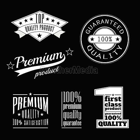 coleccion de etiquetas vintage productos premium