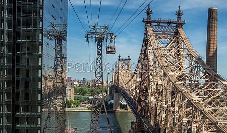 puente america acero cuerdas nueva york
