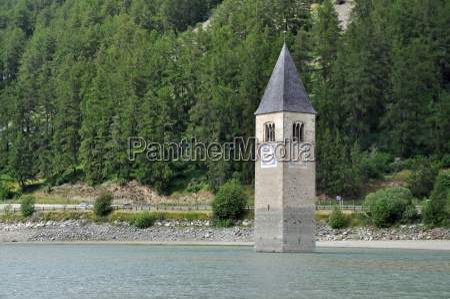 torre de la iglesia de graun