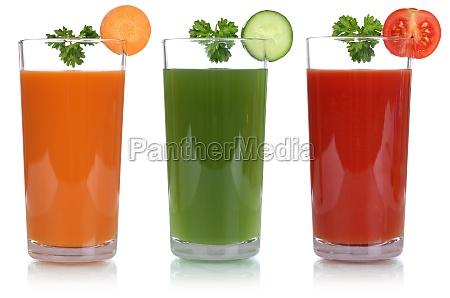 jugo de vegetales en libertad con