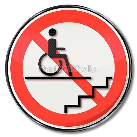 signo de prohibicion para los usuarios