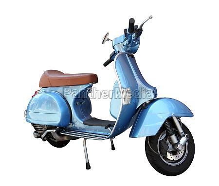 scooter clasico aislado sobre un fondo