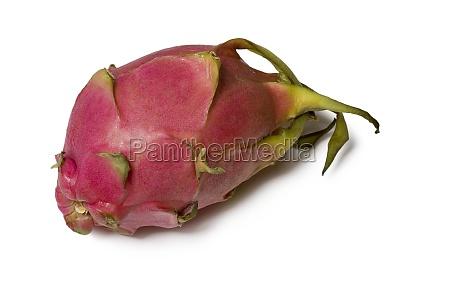dragon fruit pitaya isolated on white