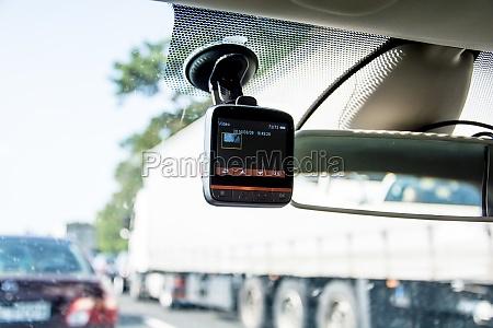 el video del coche instalada en