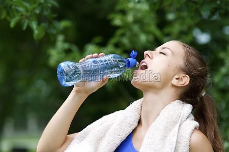 azul hermoso bueno beber bebida deporte