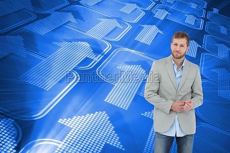 azul risilla sonrisas de moda masculino