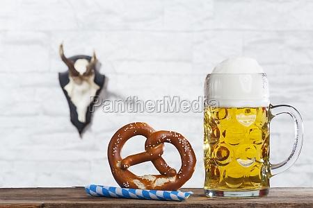 bayerische missa e um pretzel