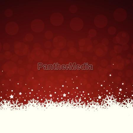 la decoracion de navidad en rojo