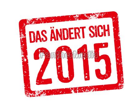 sello rojo eso cambia en 2015
