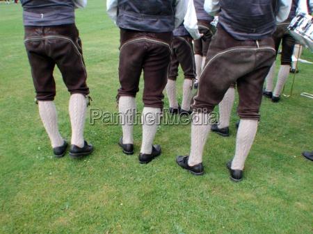 austria costumbre traje estiria pantalones de