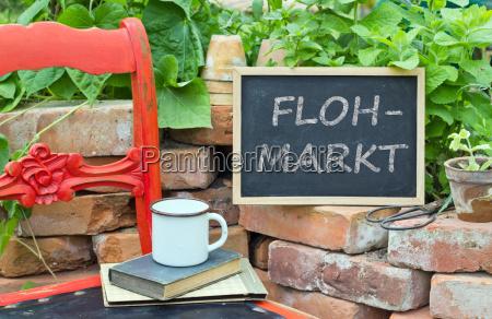 titulo aleman texto firma mercado silla