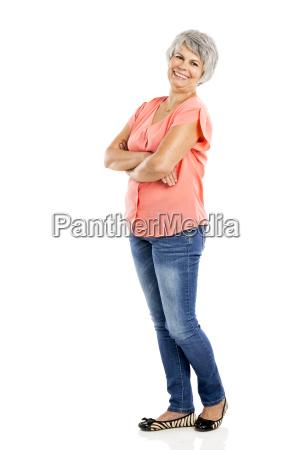 mujer mujeres plegado encantado feliz alegre