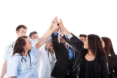 los medicos y los gestores que