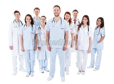medico mujer personas gente hombre risilla