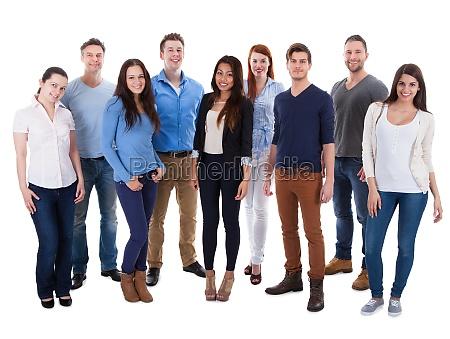 grupo de personas diversas