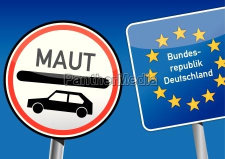 coche de peaje alemania