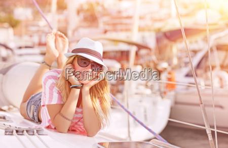 relajacion en velero