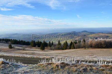 invierno frio hesse diciembre enero tiempo