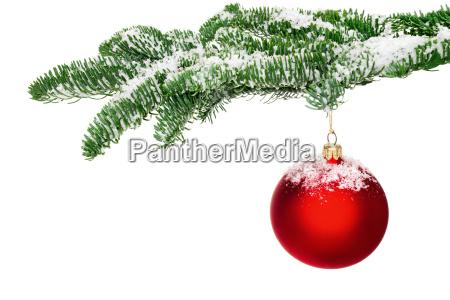 bola de arbol de navidad cuelga