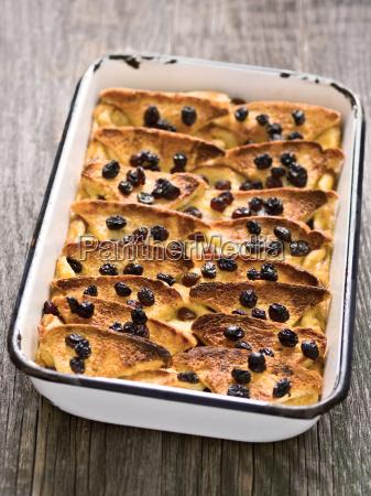 pan dulce lindo britanico pudin rustico