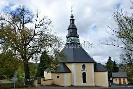 la iglesia de la montanya en