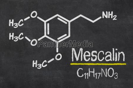 tiza formula quimica intoxicacion alucinaciones alucinogeno
