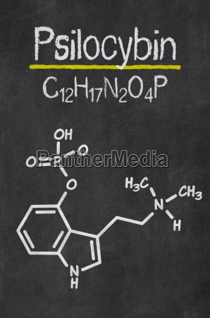 hongo tiza formula quimica alucinacion alucinogeno