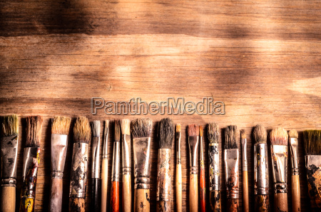 arte pintura cepillo exposicion de arte