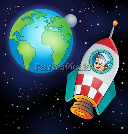 paseo viaje arte disenyo espacio universo