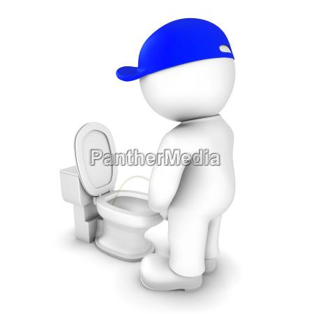 salud wc ceramica higienico miccion inodoro
