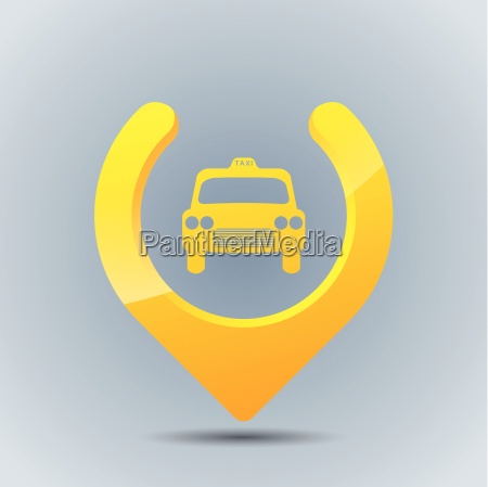 cool taxi gps pointer