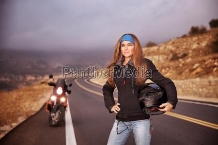 moda biker girl
