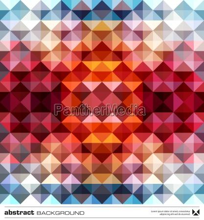 resumen triangulos de colores de fondo