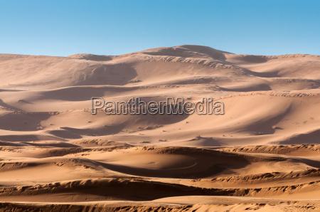 dunes in the sahara desert morocco