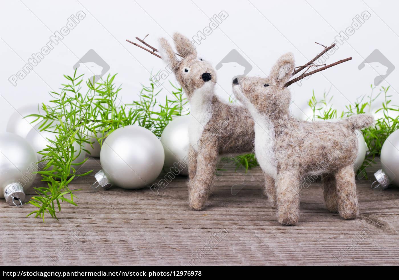 los animales, marea de yule, juguetes, sentido, navidad, ciervo - 12976978