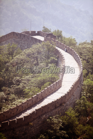asia pared china monticulo