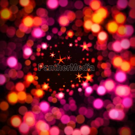 bokeh y las estrellas