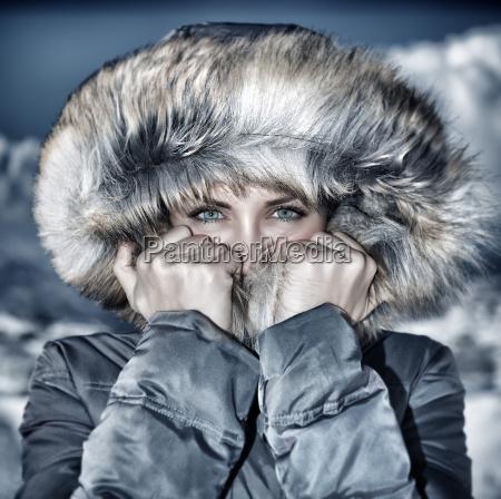 moda invierno mirar