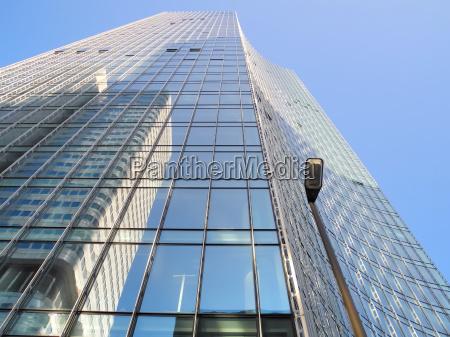 edificio de gran altura en frankfurt