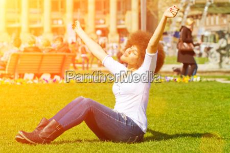 disfrutar del sol