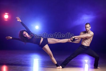 bailar bailando contemporaneo