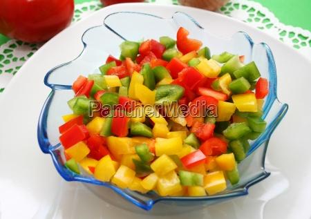 vitamina vitaminas colorido vegetal dieta paprika