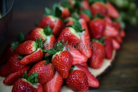 rberries en rodajas