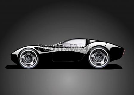 black convertible roof black