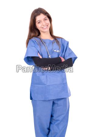 medico mujer hospital clinica medicina klink
