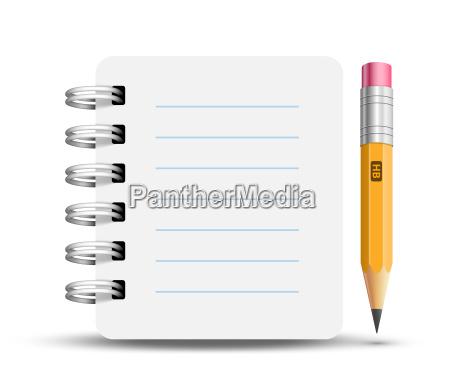 oficina nota escribir objeto educacion solitario