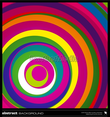 abstract colorful circles background vector