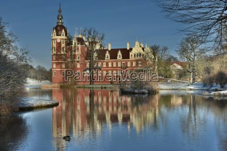 castillo en el parque principe pueckler