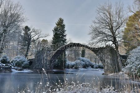rakotzbuecke en invierno